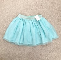 Gap toddler girl's mint glitter tulle skirt size 2- New with tags Mississauga, L5M 0C5