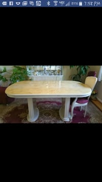 Dining table with 2 arm chairs and 4 chairs Ewing Township