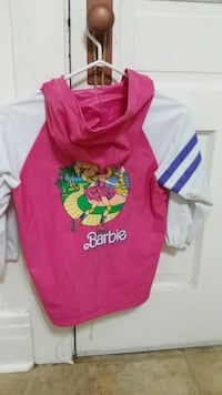 Size 6x Barbie Raincoat