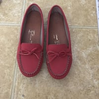 Pair of brown leather loafers Tuscaloosa