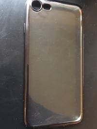Apple iPhone 7/8 jet black sides and clear  Alexandria, 22310