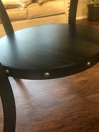 Round brown wooden dining table Rancho Cucamonga, 91730