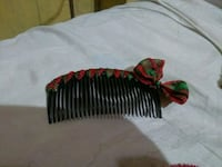 green and red  hair accessory