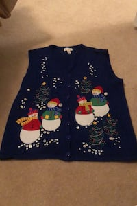 Women's XL Christmas Vest Woodbridge, 22191