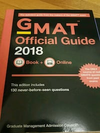 GMAT official guide 2018 Richmond Hill, L4C 1J8