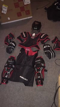 Full body hockey equipment everything mainly size large besides chest which is xl. I payed around $600 for this stuff so I would go a bit lower  Need this stuff to go ASAP Vaughan, L6A 3H7