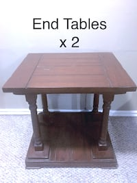 2 Furniture Galleries end tables Oshawa