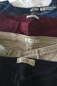 Hollister jeans and Indigo Rein Montreal, H1E 5Z6