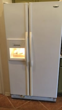 white side by side refrigerator with dispenser Rockledge, 32955