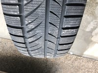 Winter rubber 225/60/16 Hamilton, L9G