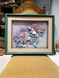 3 D floral wall hangings Richmond Hill