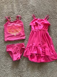Girl's Toddler Dress & Bathing Suit - Size 4 or XS Roseville, 95747