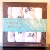 Aden+Anais Jungle Jam Classic Swaddle Pack (Retail $59.50+tax)