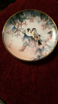 Antique limited edition porcelain plate 254 mi