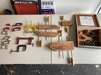 Clamp Tool Lot