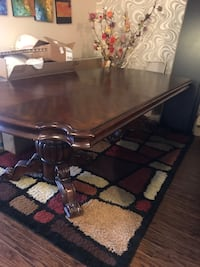 Rectangular brown wooden coffee table Brampton, L6X 0J9