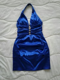 women's blue halter top Surrey, V3S 3A3