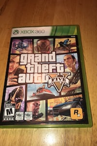 Grand Theft Auto 5 - XBOX 360 - USED - LIKE NEW CONDITION