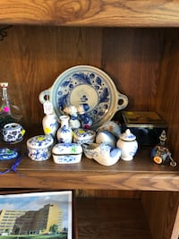 Miscellaneous items. Some Delft. Marysville, 48040