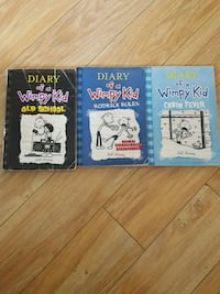 Diary of a wimpy kid books Whitby, L1N 2N3