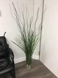 Huge vase with grass and willow beaches  Toronto, M5H 2M4