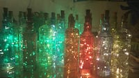 Clear glass bottle with lights ornament Pompano Beach, 33060
