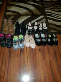Lot Toddler Girl Shoes Sz 8&9 Capitol Heights, 20743