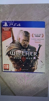 Custodia Sony PS4 The Witcher Wild Hunt Cinisello Balsamo, 20092
