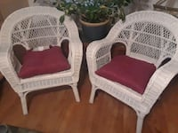 Wicker chairs Frederick