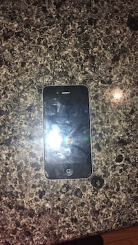 Black iphone 4, comes with cases and charger, works!