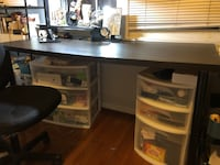 Big Table(60''x30'') with monitor stand riser Alexandria, 22314