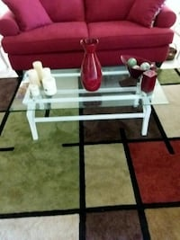 Iron and Glass Coffee Table with 2 End tables Altamonte Springs, 32701