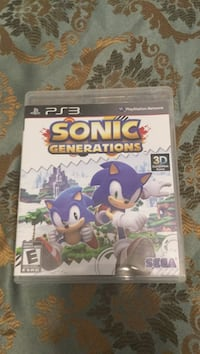 Sonic Unleashed PS3 game case