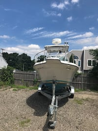 Nice and clean boat 200 horse power 2018 trailer included touch screen gps deep finder   800 hours only  Hempstead, 11550