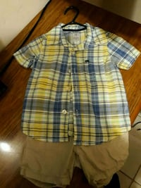 Boys plaid shirt with shorts Beverly Hills, 34465