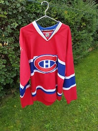 Montreal Canadiens jersey (with fight strap)  Waterloo, N2J 3R9