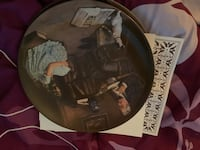 "Knowles "" the story teller "" collectors plate "" COA **have two"" Baltimore, 21222"