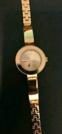 ROSE GOLD Movado BOLD watch, 25 mm  Sunrise