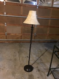 black and white floor lamp Surrey, V3S 2B4