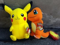 Pokemon Plush Toys $15 Each Toronto