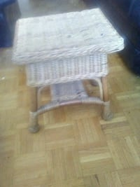 Wicker stool / seat Toronto, M2J 1B3