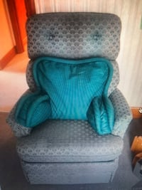 Upholstered glider chair with back rest  Hamilton, L9B 0E2
