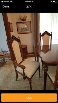 Solid oak wood dinning set in low price 544 km
