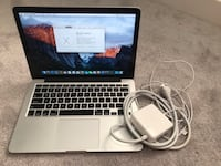 Retina MacBook Pro 2016 i5 8GB Ram 256 SSD in great condition College Park, 20740