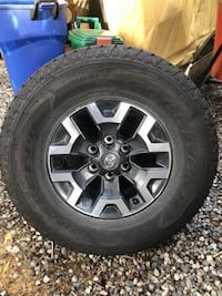 Toyota Tacoma offroad rims and tires  Surrey, V3W 1A6