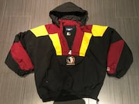 black, red, and white zip-up jacket Toronto, M6B 1C9