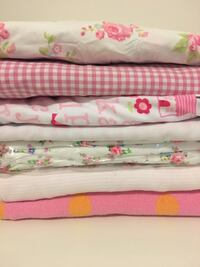 Baby girl Blankets and crib fitted sheets Mississauga, L5B