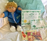 Authentic Xavier Roberts 1984 Cabbage Patch Kid Doll in Original Outfit: Genuine Signed & Dated Rohnert Park