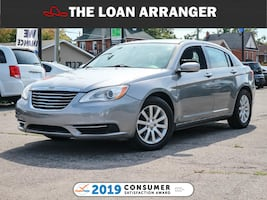 2014 CHRYSLER 200 LX 124111 KMS and 100% approved