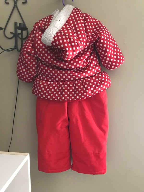cad47e4f9 Used Minnie Mouse snowsuit 2T for sale in Trenton - letgo